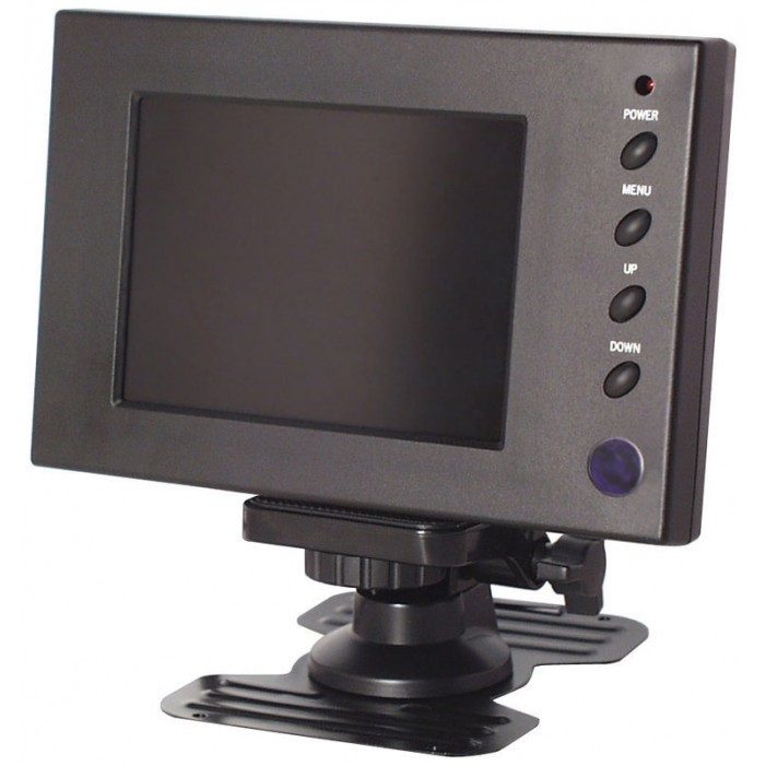 "Speco VM-5LCD 5"" High Resolution TFT Color LCD Monitor with Remote Control"