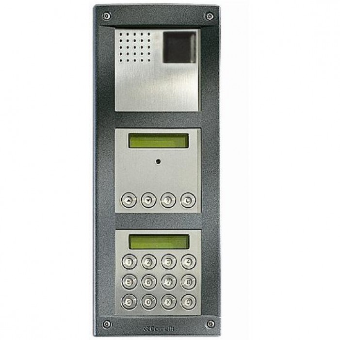 Comelit VVDF Vandalcom Video flush mount digital keypad