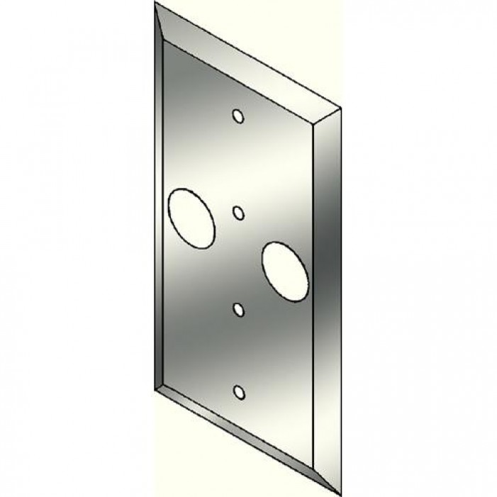 Pelco WP13 Wall Plate for use in Mounting CM1300 to a 2-inch x 4-inch Electrical Box