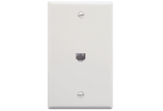 ICC IC630E60WH 6P6C Voice Wall Plate White