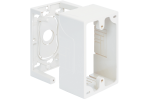 ICC ICACSMBSWH Single Gang Junction Mounting Box - White