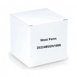 West Penn 25224BSGN1000 2 Conductor 18AWG Unshielded CMP 1000.Ft Green