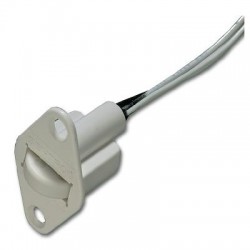 Interlogix 3008-W Recessed Roller Plunger Shorty - White