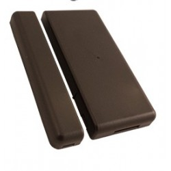 Elk 6021BR Two-Way Wireless Mini Window Sensor Brown for M1XRFTW