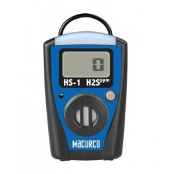 Macurco HS-1 H2S Single Gas Monitor