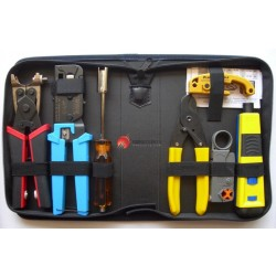 Platinum Tools 90124 PRO Twisted Pair & Coaxial Tool Kit