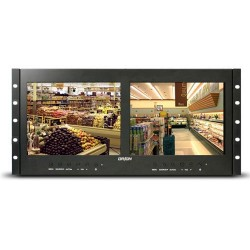 Orion 9RCRD 9.7-inch Rack Mount Ready Dual Display LED Monitor