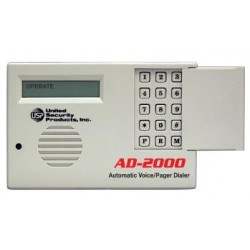 United Security Products AD2000 Auto Voice Dialer with 4 VMZ