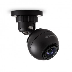 Arecont Vision AV5245DN-01-W 5MP Indoor Wall Mount IP Dome Camera, Black