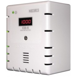 Macurco CD-6 Carbon Dioxide Fixed Gas Detector Controller Transducer