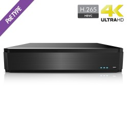 Cantek Plus CTP-HN532P16-4T 32 Channel NVR with 16 Channel H.265 4TB