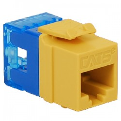 ICC IC1078F5YL High Density Category 5e Module Yellow