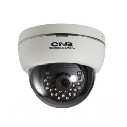 CNB LBD-50S-W 700TVL IR D-WDR Dome Camera, 3.8mm