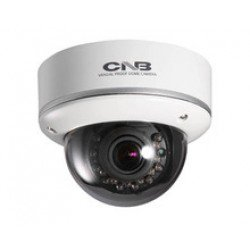 CNB LCD-54VF 700TVL Outdoor IR Vandal Dome, 2.8-10mm