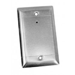 Louroe Electronics Verifact D Omni-directional Stainless Steel Faceplate Microphone