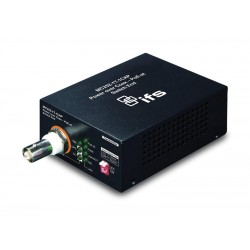 Interlogix MC252-1T-1CXP-B Power Over Coax - PoE-At Media Converter - Switch End - REFURBISHED