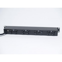 Minuteman OEPD1020HVL 10-Outlet Versatile Mounted PDU, 20 Amp w/Lock