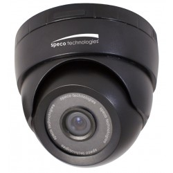 Speco OIPC21T7B OnSIP Indoor Color IP Turret Dome Camera, 4.3mm