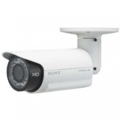 Sony SNC-CH180 Network 720p HD / 1.3 MP Bullet Camera IR IP66,PoE
