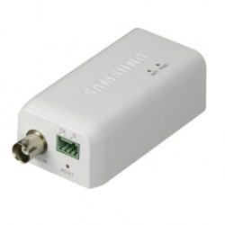 Samsung Security SPE-101 1-Channel Multi-Codec Video Encoder, PoE