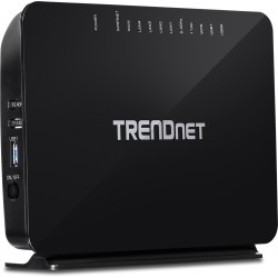 TRENDnet TEW-816DRM AC750 Dual Band Wireless VDSL2/ADSL2+ Modem Router