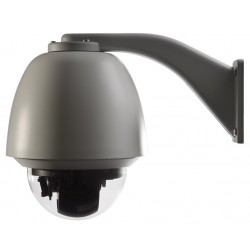 Interlogix TVP-1101-B TruVision 1.3 MPX 20X PTZ Dome Pendant Outdoor, PoEplus/24VAC, PAL - REFURBISHED