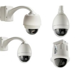Bosch VGA-BUBHD-CCLA AutoDome HD In-Ceiling High Res Bubble, Clear