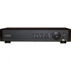 ViewZ VZ-04HyDVR-D Hybrid Digital Video Recorder with 4 channels, No HDD