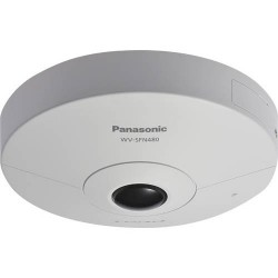Panasonic WVSFN480 9 Megapixel 4K Ultra HD Indoor 360 Degree Panoramic Network Camera