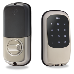 Yale YRD120ZW619 Key-Free Touchscreen Z-Wave Deadbolt (Satin Nickel)