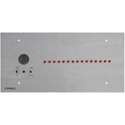 Alpha A-4015 15 Zone Visual Annunciator 1 Row