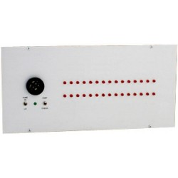 Alpha A-4030-TG 30 Zone Visual Annunciator UL