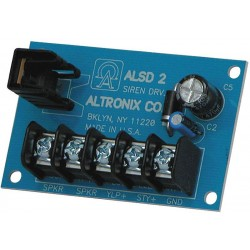Altronix ALSD2 Two-Channel Siren Driver