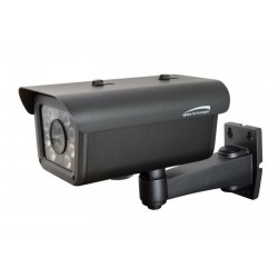 Speco CLPR66H Outdoor 80 IR LED License Plate Camera, 9-22mm