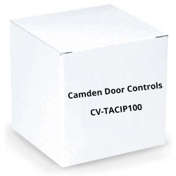 Camden Door Controls CV-TACIP100 VOIP Telephone Entry and Access Control Panel, Browser Based Software, Network and RS485 Interface Included