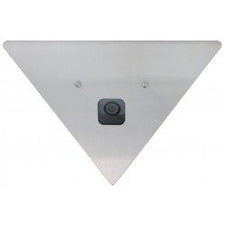 Speco CVC-605CM6 18-Gauge Stainless Steel Color Corner Mount Camera