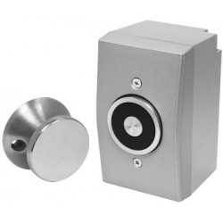 Seco-Larm DH-151SQ Magnetic Door Holder Surface-Mount with Backbox, UL
