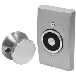 Seco-Larm DH-171SQ Magnetic Door Holder Flush-Mount with Backbox, UL