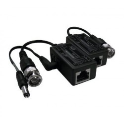 DHVision DH-VBP-102 Passive Video Balun With Power (Sold by Pair)