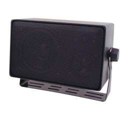 Speco DMS3TS Weather Resistant 3 Way Speakers w/ Transformer