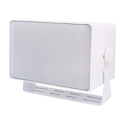 Speco DMS3TSW Weather Resistant 3 Way Speakers w/ Transformer