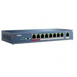 Hikvision DS-3E0109P-E 8-Ports 100Mbps Unmanaged PoE Switch