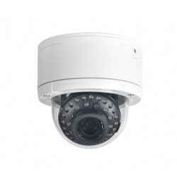 Ikegami EE-35MZ2812 1080p HD-AHD/TVI/CVI Analog Outdoor Dome Camera, 2.8-12mm Lens
