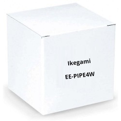 "Ikegami EE-PIPE4W 1"" Diameter Pipe, 4"" Length, White for Plates: EE-PL-BB1W, EE-CMPL3W"