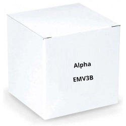 Alpha EMV3B QWIKBUS Keypad - Vandal Resistant - Digital - Brown