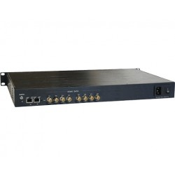 American Fibertek ET4200CPp-RS8 Receiver of 8 Port Coax to 4 Port 10/100/1000Base-TX Ethernet Switch with PoC