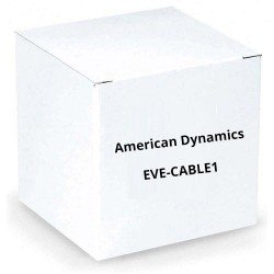 American Dynamics EVE-CABLE1 Audio Video Patch Cable for EN220 Monitor