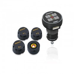 RVS Systems GS-TPMS100US Papago GoSafe Tire Pressure Monitoring System