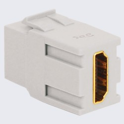 ICC IC107HDCWH HDMI Modular Coupler in HD Style, 25 Pack