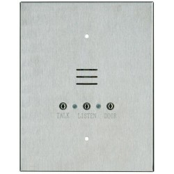 """Alpha IS481C 4 Wire Apartment Station-7""""W/9""""H-Stainless Steel"""
